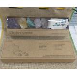 onde encontro brindes personalizados com pedras brasileiras Vila Endres